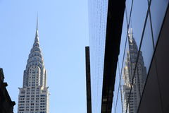 Chrysler Building of New York Royalty Free Stock Photo