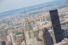 Chrysler Building in New York, Manhattan Stock Images