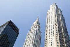 Chrysler Building in New York Stock Image