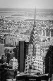Chrysler Building New York. Chrysler Building seen from the Empire State Building Observatory Stock Photography