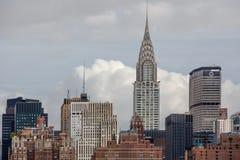 Chrysler Building in New York. Stock Photos