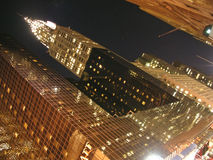 Chrysler building by night. New York Royalty Free Stock Photography