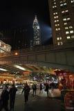 Chrysler building by night, New York, USA Royalty Free Stock Photos