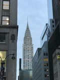 Chrysler Building in NYC Royalty Free Stock Photos
