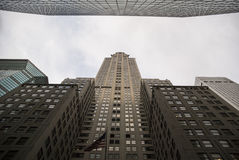 Chrysler building perspective Royalty Free Stock Images