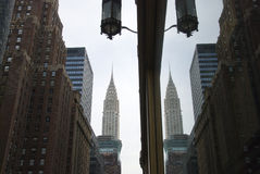 Chrysler Building Reflection - New York City Stock Photos