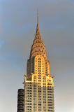 Chrysler Building at sunset, New York City Royalty Free Stock Photo
