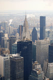 Chrysler building view, New York Royalty Free Stock Image