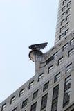 Chrysler byggnad som når för himlen, Midtown Manhattan Royaltyfri Bild