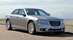 Chrysler 300c car Stock Image