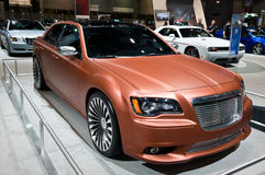 Chrysler at the Chicago Auto Show Royalty Free Stock Photos