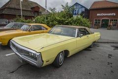 1969 Chrysler convertibel Nieuwpoort Royalty-vrije Stock Fotografie