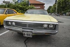 1969 Chrysler convertibel Nieuwpoort Royalty-vrije Stock Foto's