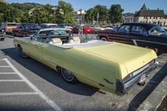 1969 Chrysler convertibel Nieuwpoort Royalty-vrije Stock Afbeelding