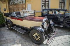 1928 Chrysler 4 convertibele deur Stock Afbeelding