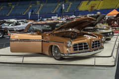 Chrysler custom car. Montreal october 10-12, 2014 picture of chrysler custom car built by roy trepanier in display during the autorama event Royalty Free Stock Photography
