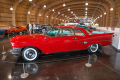 1959 Chrysler. On display at the American Car Museum, Tacoma, Washington. 9 May, 2015 Stock Image
