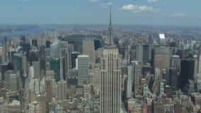 Chrysler et Empire State Building banque de vidéos