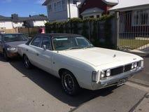 Chrysler gammal tidmätare tappra kungliga 1975 arkivbild