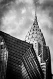 Chrysler-Gebäude-Skyline stockfoto