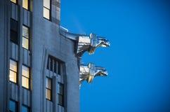 Chrysler-Gebäudewasserspeier Lizenzfreie Stockfotografie