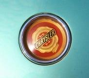 Chrysler Ghia Trunk Badge Royalty Free Stock Images