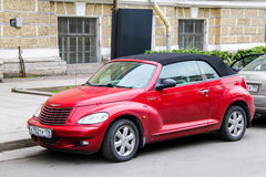 Chrysler halv liter kryssare royaltyfri bild