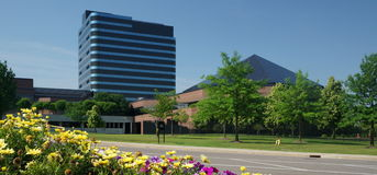 Chrysler-Hauptsitze Stockfoto