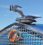 1929 Chrysler Hood Ornament Stock Afbeeldingen