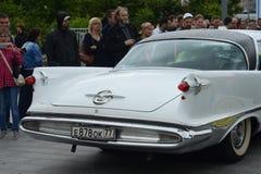 ` Chrysler-impérial de ` de voiture sur le rassemblement de vieilles voitures Bosch Moskau Klassik à Moscou Image libre de droits