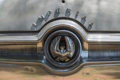 Chrysler imperialistiskt LeBaron emblem på skärm Royaltyfria Foton