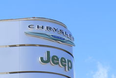 Chrysler-Jeep Lizenzfreies Stockbild