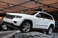 Chrysler-Jeep-großartiges Cherokee Lizenzfreies Stockfoto
