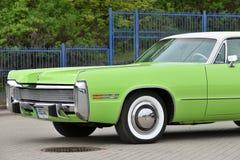 Chrysler 1973 Keizerlebaron royalty-vrije stock foto's