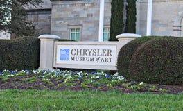 Chrysler muzeum sztuki Obrazy Stock