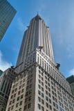 Construção de Chrysler em New York City Fotografia de Stock Royalty Free