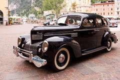 Chrysler Royal 6 Sedan, 1939 royalty free stock photos