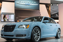 Chrysler 300S car on display at the LA Auto Show. Stock Photography