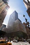 Chrysler som bygger i New York City Fotografering för Bildbyråer
