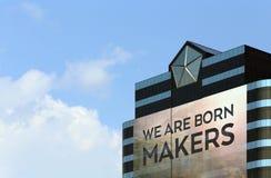 Chrysler världshögkvarter Fotografering för Bildbyråer