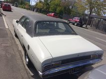 Chrysler Valiant Regal 1975 old timer. The was a full-size car that was sold by Chrysler Australia between 1962 and 1981. It was sold locally but also in New royalty free stock photo