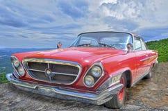 Chrysler vermelho 300 Imagens de Stock Royalty Free