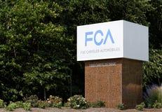 Chrysler-Welthauptsitze Lizenzfreies Stockbild