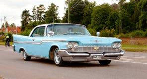 Chrysler Windsor 1959 Arkivfoton
