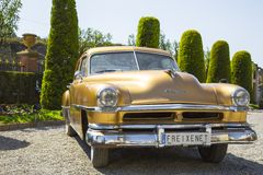 Chrysler windsor deluxe Royalty Free Stock Photos