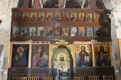 Chrysopolitissa kyrka Arkivfoto