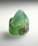Chrysoprase mineral Royalty Free Stock Photos
