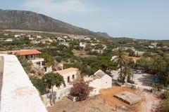 Chrysoskalitissa Monastery Royalty Free Stock Images