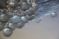 chrystal的枝形吊灯 库存照片