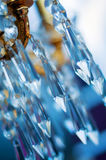 Chrystal chandelier Stock Photos